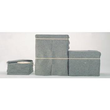 Allzweck-Decke; 150 cm x 2 m; grau; 220 g/qm; vierseitig eingefaßt