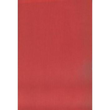 Geschenkpapier; 50 cm x ca. 250 m; uni, einseitig farbig; rot, Rückseite: naturbraun; 30005; Kraftpapier braun, enggerippt; Secare-Rolle