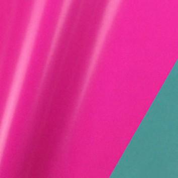 Geschenkpapier; 50 cm x 250 m / 70 cm x 250 m; bicolor, zweiseitig farbig; pink-wasserblau; 80139; Geschenkpapier, glatt; Secare-Rolle