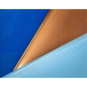 Geschenkpapier - Lackpapier; 70 cm x 100 m; uni, einseitig farbig; verschiedene Farben, glänzend; 3001_..; Lackpapier weiß, glatt; 100m-Maxirolle