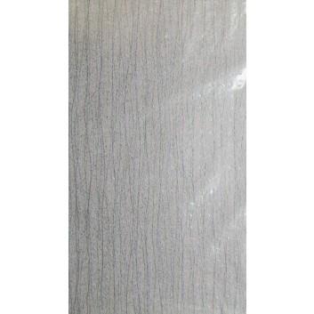 Geschenkseide; 50 x 75 cm; Streifen, fein; hellrosa mit silber; Seide, geprägt; Bogen, einmal gelegt