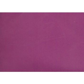 Geschenkpapier; 70 x 100 cm; uni, einseitig farbig; lila; Kraftpapier, braun-matt, enggerippt; Bogen einmal gelegt