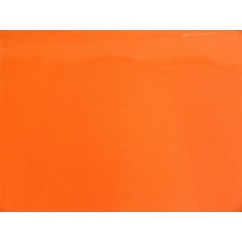 Lack-Geschenkpapier, extrafest; 70 x 100 cm; uni, einseitig farbig; orange; Lackpapier,extrastark-hochglänzend,glatt; Bogen einmal gelegt