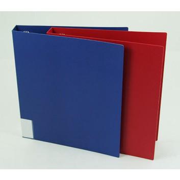FolderSys Ringbuch; für DIN A4; verschiedene Farben; 35 mm; 4 Ringe; ohne Blattniederhalter; Einband mit Polypropylen Folie kaschiert; 21021..