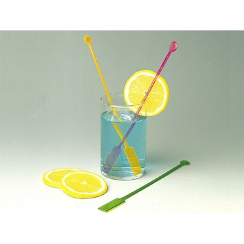 Kögler Longdrink-Rührer, Plastik; uni; bunt, sortiert; 200 mm; Plastik; in Klarsichtbox