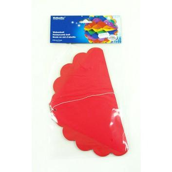 Riethmüller Deko-Wabenball; Regenbogen; bunt; Ø ca. 28 cm; schwer entflammbar