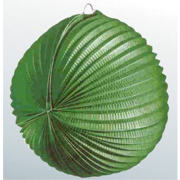 Kögler Lampion; Standard, uni; grün; Ø ca. 34 cm; schwer entflammbar