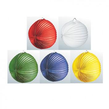 Kögler Lampion; Standard, uni; einfarbig und bunt; Ø  ca. 34cm; schwer entflammbar