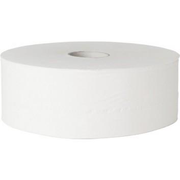 fripa Toilettenpapier, Großrolle; 1-lagig; grau, glatt; 700 m - ohne Perforation; 100 % Recycling; Blauer Engel; Durchmesser: ca. 31,5 cm