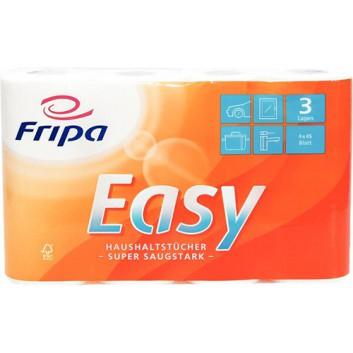 fripa Küchenrolle  -Violan-; 3-lagig; hochweiß; 45 Tücher; 100% chlorfrei gebleichter Zellstoff; FSC-zertifiziert