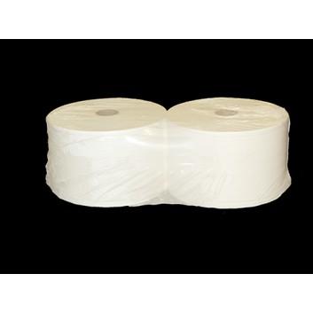 TORK Putztuch, Maxirolle; 24 cm (B ); 2-lagig; weiß; 1000 m; Universal 320, Tissue; ungeprägt;  nicht perforiert; Außenabrollung