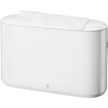 TORK H2 Tisch-Handtuchspender; 323 x 218 x 116 mm (B x H x T); weiß; für Interfold-Handtücher; Elevation H2