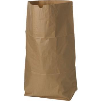 Papier-Müllsack für Gartenabfälle; 110 Liter; braun; Papier; 70 x 95 cm; Breite x Höhe; Einzelsäcke