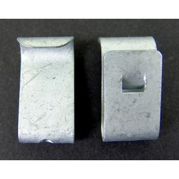 Clipse für Müllsack; zur Befestigung von Müllsack #360112; silber; Metall