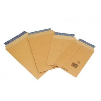 Arowell Wellpapptasche; braun; 4 Formate; ohne Fenster; Wellpappe, 1-seitig glatt; mit Haftstreifen; L x B; außen glatt, innen offene Sinuswelle