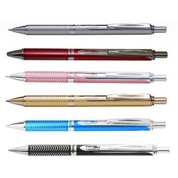 Pentel EnerGel BL 407; Geltintenroller; verschiedene Farben; 0,35 mm; dokumentenecht, lichtecht, wasserfest; verschiedene Farben