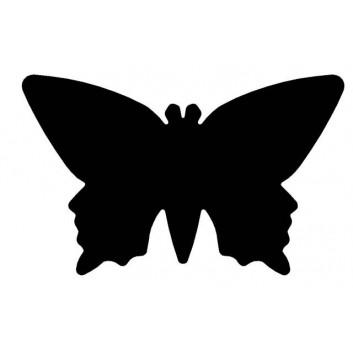 WEDO Motiv-Locher groß; Schmetterling; bis 220 g/qm; Stanzteile zum Dekorieren/Basteln