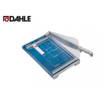 Dahle Hebel-Schneidemaschine; 340 mm; gerader Schnitt; 2,5 mm = max. 20 Blatt; 285 x 450 mm (B x T); manuell; geschliffenes Ober und Untermesser