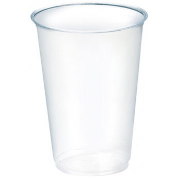 Becher Bio-PLA; 400 ml; klar; PLA (=Polymilchsäure); 400 ml; bis max + 40°C; für Deckel 821178/278/378