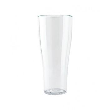 Weißbierbecher, Mehrweg; 500 ml; brilliantklar; PC; Eichstrich bei 500 ml; ø 80 mm, 192 mm Höhe; stapelbar, unzerbrechlich