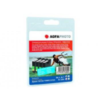 Agfa Kompabible Tintenpatrone; APET071T089XL=#Epson T0715/T0895; cyan/magenta/yellow/black; 4 x 13 ml; geeignet für Epson Stylus D78, D92, D120