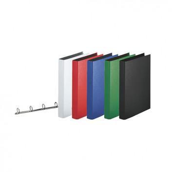 Esselte Ringbuch; für DIN A4; verschiedene Farben; 35 mm; 4 Ringe; Ø 25 mm; ohne Blattniederhalter; ca. 190 Blatt