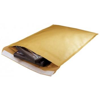 SUMO Papierpolstertasche; braun; div. Formate; ohne Fenster; #CD; Recyclingpapier; mit Haftstreifen; L x B