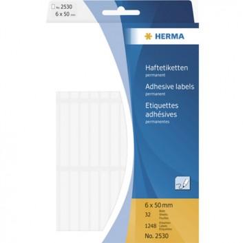 HERMA Vielzweck-Haftetiketten; verschiedene Formate; verschiedene Farben; Papier, chlorfrei gebleicht; verschiedene Haftkraft