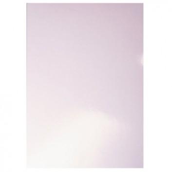LEITZ Deckblatt Hochglanz; weiß; Hochglanzkarton 240 g/qm