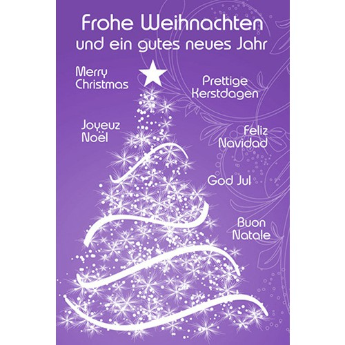 Internationale weihnachtsgrube text