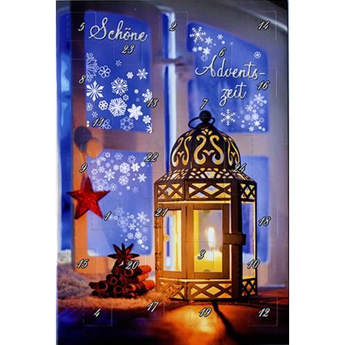 weihnachtskarte adventskalender. Black Bedroom Furniture Sets. Home Design Ideas