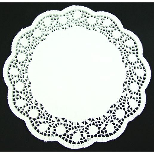 2 x 6er-Pack Tortenspitzen Papier Ø 36 cm weiß