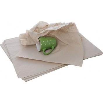 Packseide; 37 x 50 cm; uni, unbedruckt; grau; Bogen; ca. 25 g/qm; recyceltes Seidenpapier, nicht säurefrei; 1 kg = ca. 216 Bogen