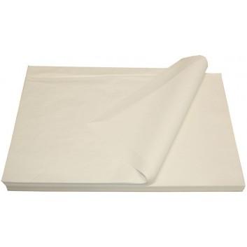 Bäckerseide; 37 x 50 cm; uni, unbedruckt; grau; ca. 30 g/qm; auch als festere Packseide geeignet; Seidenpapier (Bäckerseide)