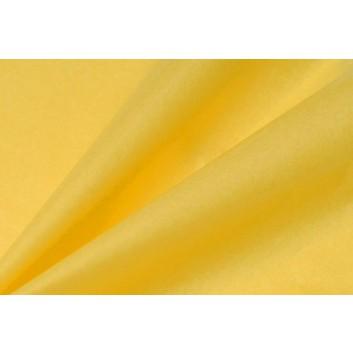 Blumenseide naßfest 2,5kg-Pack; 50 x 75 cm; uni; zitronengelb; A05; hochnaßfest, hochreißfest; ca. 28 g/m² = ca. 230 Bogen/Pack