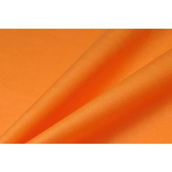 Blumenseide naßfest 2,5kg-Pack; 50 x 75 cm; uni; mandarin = orange; A29; hochnaßfest, hochreißfest; ca. 32 g/m² = ca. 200 Bogen/Pack