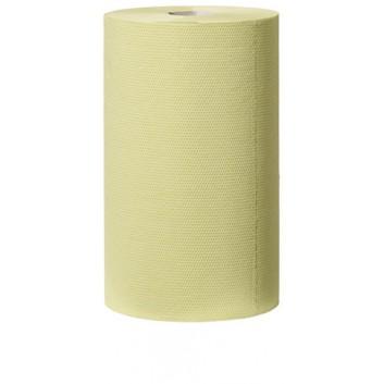 TORK Putztuch, grün - Midirolle; 23,0 x 27,5 cm (B x L); 2-lagig; grün; 55 m = 200 Tücher; Tissue;starkes Mehrzweck-Papierwischtuch; geprägt