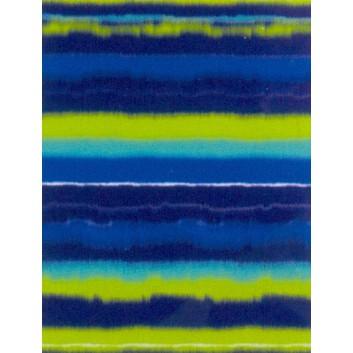 Zöwie Geschenkpapier; 50 cm x 50 m; Streifen-Farbverlauf; blau-hellgrün; 6A2611; Geschenkpapier gestrichen weiß, glatt; 50m-Midirolle; ca. 80 g/qm