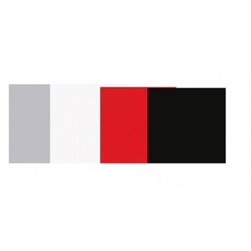 Geschenkpapier - Lackpapier; 50 cm x 50 m; uni, einseitig farbig; diverse Farben, leicht glänzend; Geschenkpapier gestrichen weiß, glatt