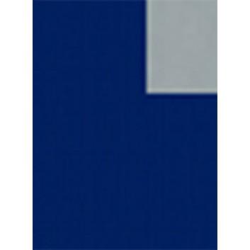 Geschenkpapier; 70 cm x 50 m; bicolor, zweiseitig farbig; blau-silber; 2003-67; Offset, glatt; 50m-Midirolle