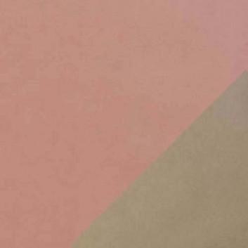 Geschenkpapier; 50 cm x 250 m; bicolor, zweiseitig farbig; rosenholz-graubraun; 11167; Kraftpapier, weiß gestrichen glatt; Secare-Rolle