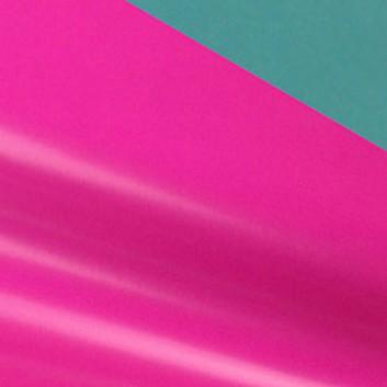 Geschenkpapier; 50 cm x ca. 250 m; bicolor, zweiseitig farbig; pink-wasserblau; 80139; Geschenkpapier, glatt; Secare-Rolle