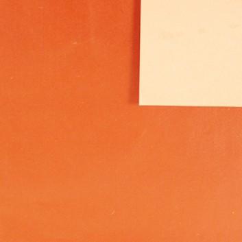 Geschenkpapier; 50 cm x 250 m / 70 cm x 250 m; bicolor, zweiseitig farbig; caramellbraun-glänzend - apricot-matt; 11147; Offset weiß, glatt