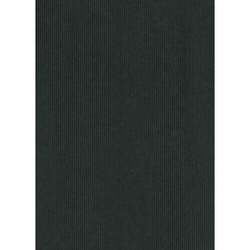 Geschenkpapier; 50 cm x ca. 250 m; uni, einseitig farbig; schwarz, Rückseite: naturbraun; 30720; Kraftpapier braun, enggerippt; Secare-Rolle