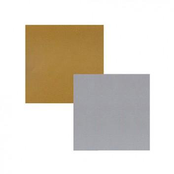 Geschenkpapier; 50 cm x 250 m / 70 cm x 250 m; uni, einseitig farbig; gold /silber; 8007 / 8008; Geschenkpapier weiß, glatt; Secare-Rolle