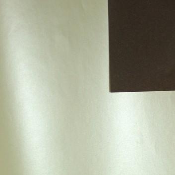 Geschenkpapier; 50 cm x 250 m; bicolor, zweiseitig farbig; creme,pearl - schokobraun,matt; 70120; Artline forte gestrichen, glatt; Secare-Rolle