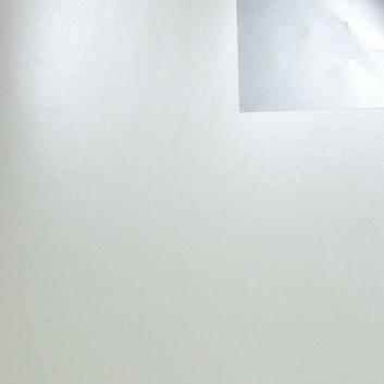Geschenkpapier; 70 cm x 250 m; bicolor, zweiseitig farbig; weiß,pearl - silber; 70140; Artline duo gestrichen, glatt; Secare-Rolle
