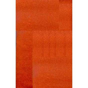 Geschenkpapier - Metallicpapier; 70 cm x 100 m; uni, einseitig farbig; orange, Rückseite: weiß-matt; 2701_31