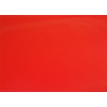 Lackpapier; 70 x 100 cm; uni, einseitig farbig; neonorange; Lackpapier, hochglänzend, glatt; Bogen einmal gelegt