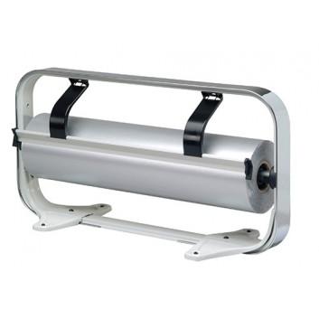 Abroller Chrom; 75 cm; Tisch, waagrecht; glattes Messer; für Papier; verchromt, Typ C